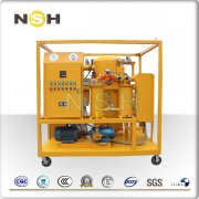 Double-Stage High Vacuum Transformer Oil Purification-VFD